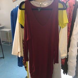 Deep red Moda International Dress